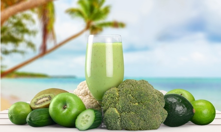 Juice, Healthy Lifestyle, Green.