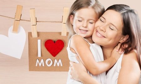 gratefulness: Day, mothers, mother. Stock Photo