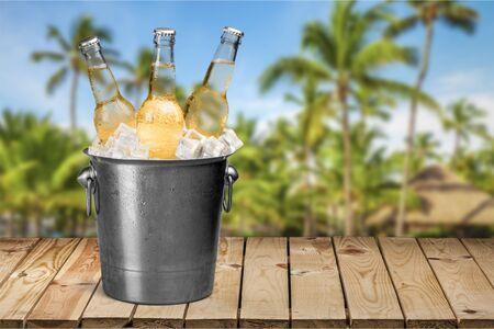 botellas de cerveza: Garrafa de cerveza, cerveza, Cubo.