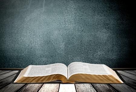 Książka, Biblia, Otwórz.