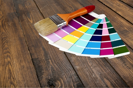 paint swatch: Paint, Paintbrush, Color Swatch.