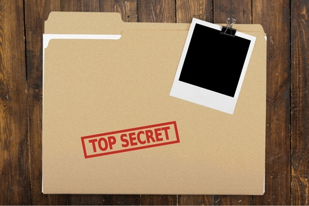 sigilo: Top Secret, Privacidade, File. Banco de Imagens