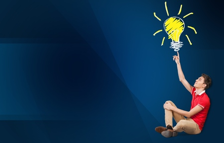 idea light bulb: Light, idea, vision.