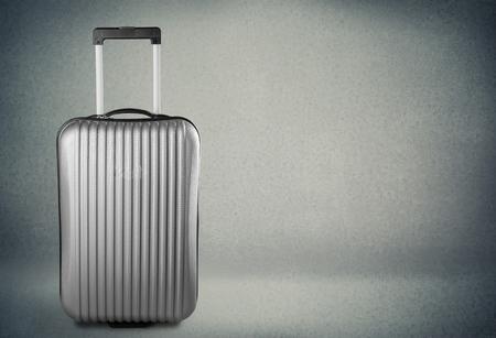 luggage bag: Suitcase, Luggage, Travel. Stock Photo