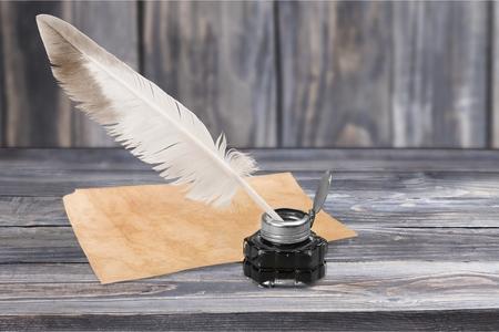 pluma de escribir antigua: Pluma, Will, Redacción.