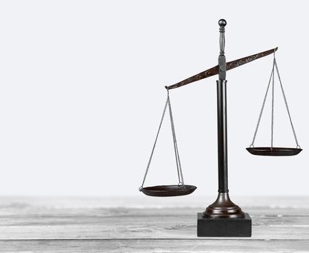 justiz: Scales of Justice, Waage, Balance.