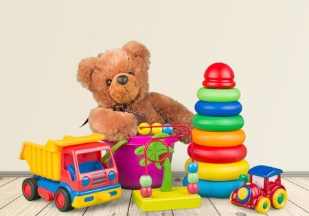 おもちゃ、子供、子供。 写真素材