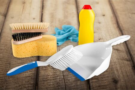 clean home: Cleaning, Clean, Sweeping. Stock Photo