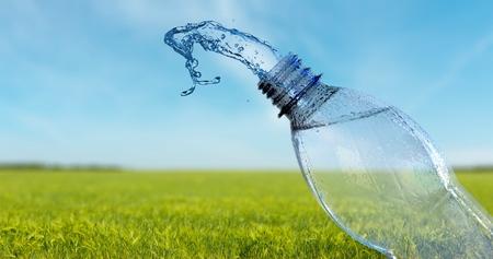 agua purificada: Botella de agua, botella, agua. Foto de archivo
