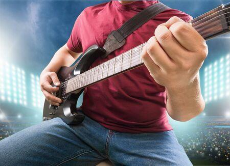 Guitar, Music, Guitarist.