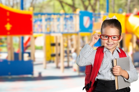 child school: Child, school, genius. Stock Photo