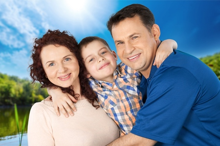 ethnicity: Family, Latin American and Hispanic Ethnicity, Cheerful. Stock Photo