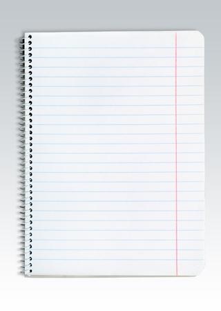 book binding: List, pad, write.