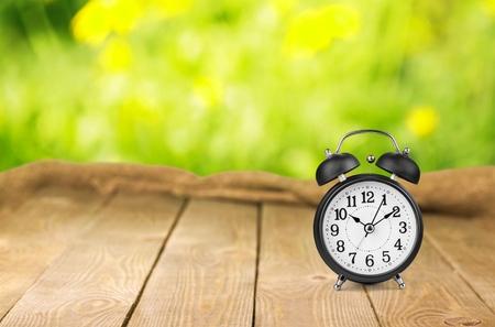 clock: Clock, alarm, hour.