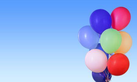 anniversary backgrounds: Balloon, baloon, object. Stock Photo