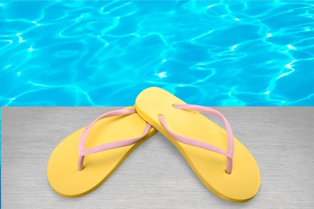 flipflop: Flip-flop, Isolated, Sandal. Stock Photo