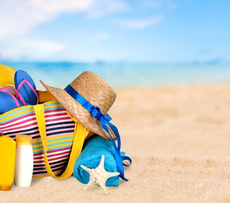 Vacations, Summer, Beach.