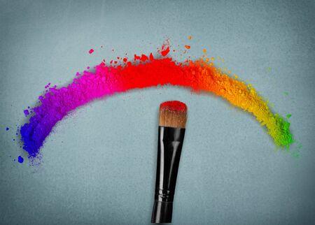 Makeup, color, colorful.