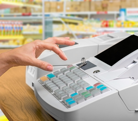 supermarket cash: Cash, till, register.