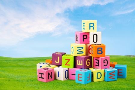 toy block: Toy, block, alphabet.