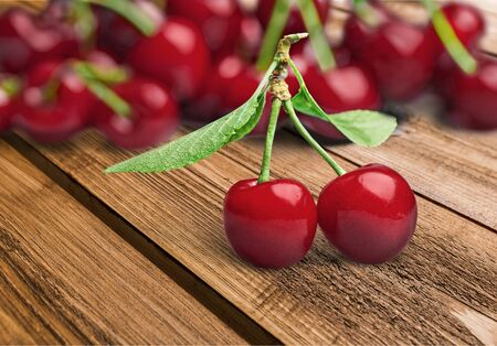 stand out: Cherry, Standing Out From The Crowd, Perfection. Stock Photo