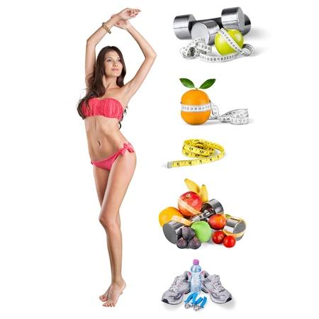 vrouw ondergoed: Woman, underwear, swimwear.