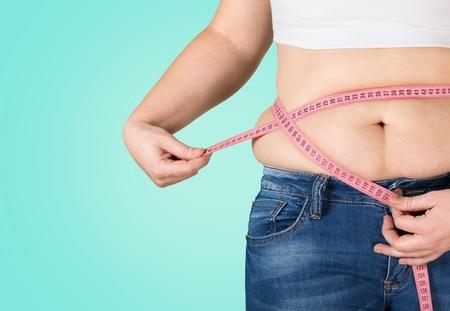 abdomens: Fat, overweight, diet.