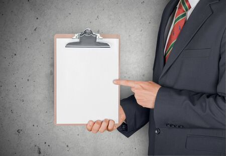 holding paper: Clipboard, Holding, Paper.