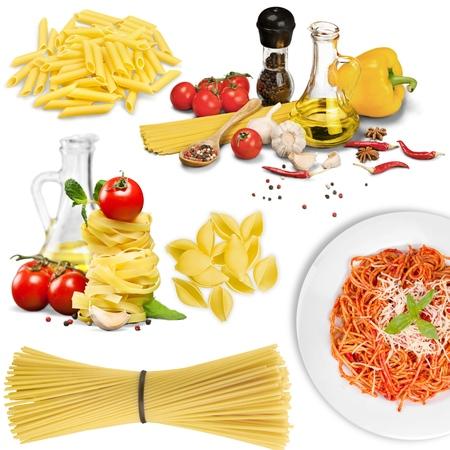italian culture: Pasta, Spaghetti, Italian Culture. Stock Photo