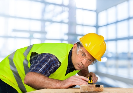 manual measuring instrument: Construction, Construction Worker, Manual Worker.