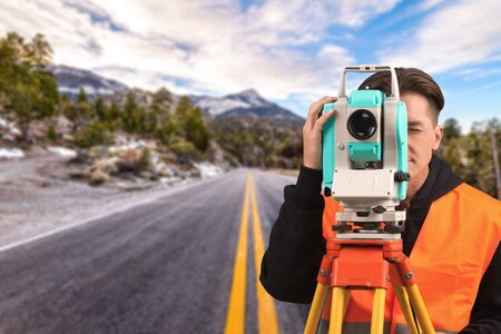 manual measuring instrument: Surveyor, Land, Theodolite.