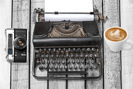 revival: Typewriter, Retro Revival, Old.