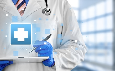 healthcare and technology: Doctor, Healthcare And Medicine, Medical Exam.