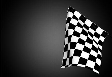 checker flag: Checkered Flag, Flag, Auto Racing.