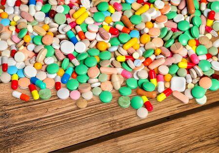 antibiotic capsule: Pill, Capsule, Antibiotic.