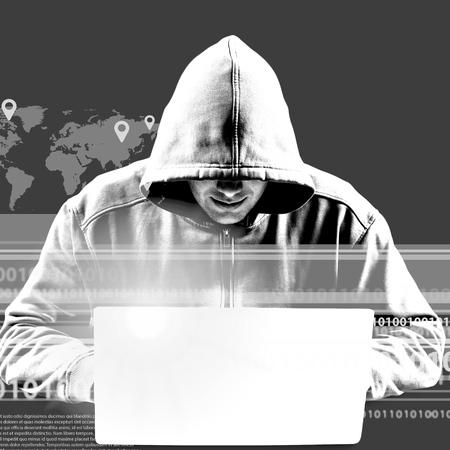 Theft, id, cyber. Reklamní fotografie - 41572932