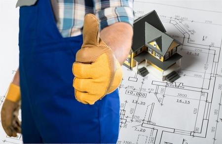 protective: Tradesman, protective, building.