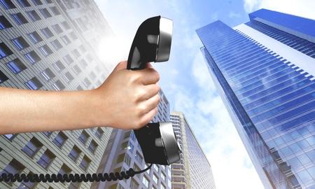 customer service representative: Telephone, Human Hand, Customer Service Representative.
