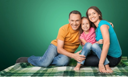ethnicity: Family, Asian Ethnicity, House. Stock Photo