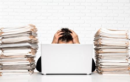 Emotional Stress, Paperwork, Document.