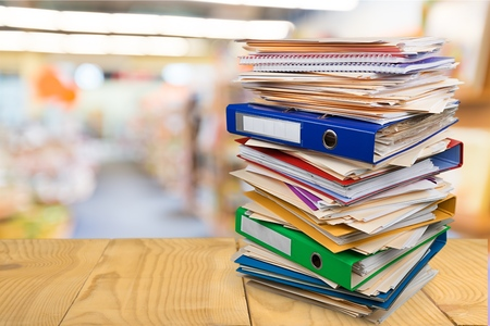 Stack, Paperwork, Paper.