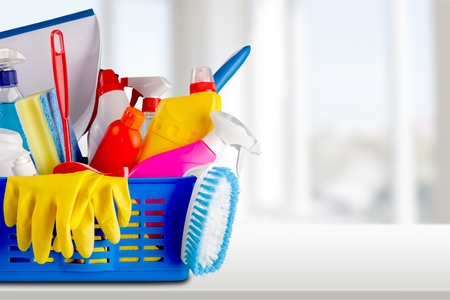 Cleaning, Cleaning Equipment, Maid. Stock Photo - 41874447