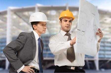 arquitecto: Construcci�n, Arquitecto, Ingeniero. Foto de archivo