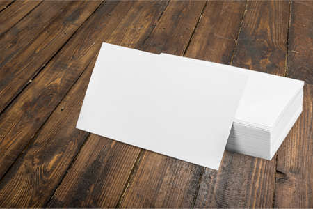 quantities: Card, business, blank. Stock Photo