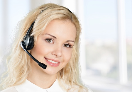 customer service: Women, Service, Customer Service Representative.