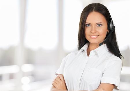 Customer Service Representative, Women, Service.