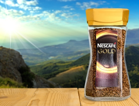 nestle: Illustrative editorial coffee. Editorial