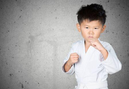 martial: Karate, Child, Martial Arts.