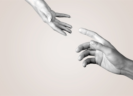 the human hand: Human Hand, Assistance, A Helping Hand.