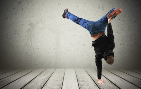 Breakdancing, Balance, Isolated.